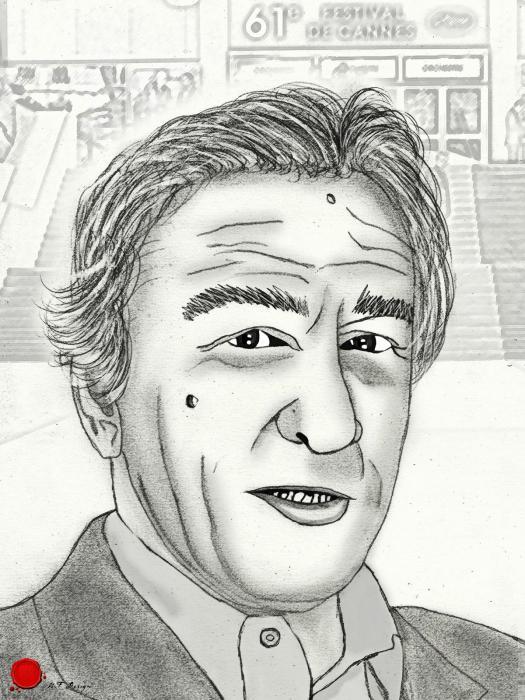 Robert De Niro by merytamon
